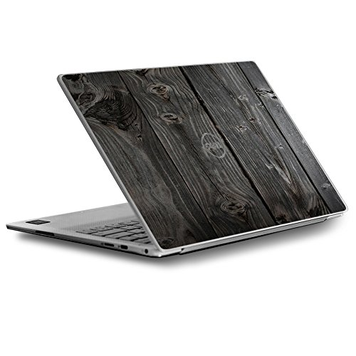 Skin Decal for Dell XPS 13 9370 9360 9350 Laptop Vinyl Wrap Cover/Reclaimed Grey Wood Old