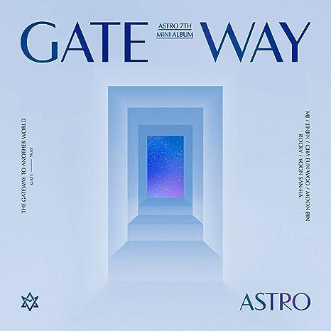 Amazon.com: Fantagio Astro - Gateway [Another World ver.] (7th Mini Album) Album+Folded Poster+Extra Photocards Set : Home & Kitchen