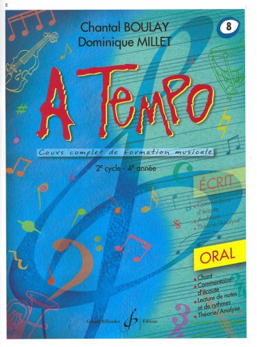 A Tempo - Partie Orale - Volume 8