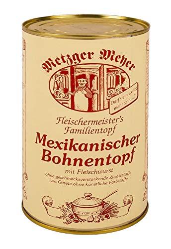 Mexikanischer Bohnentopf, die deftige mexikanische Bohnensuppe im 6er Pack / eine Büchse mit 1200ml Inhalt