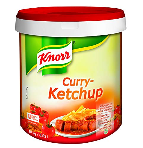 Knorr Curry Ketchup (mit süß-scharfer Curry Note) 1er Pack (1 x 10 kg)