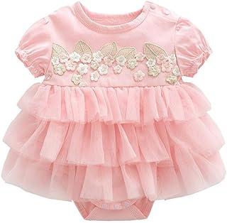 Beb/é Ni/ñas Tut/ú Pelele Vestido A Rayas Body Verano Mameluco Infante Tuta Outfits Cumplea/ños Princesa Trajes