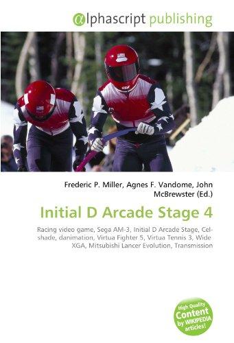 Initial D Arcade Stage 4: Racing video game, Sega AM-3, Initial D Arcade Stage, Cel- shade, danimation, Virtua Fighter 5, Virtua Tennis 3, Wide  XGA, Mitsubishi Lancer Evolution, Transmission