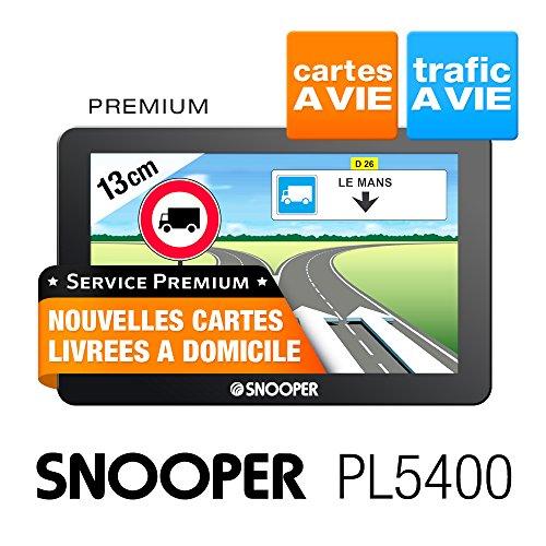 Snooper PL 5400 GPS Eléments Dédiés à la Navigation Embarquée Europe Fixe, 16:9