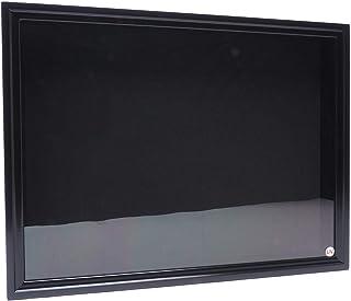 【オールブラックUVカット】中型ドイツ型標本箱(黒)