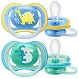 Philips Avent SCF349/11 - Pack de 2 chupetes Ultra Air, tetina extrafirme para...