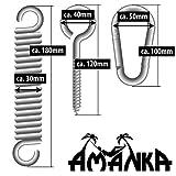 extra schwere Befestigung aus Metall bis 150 KG für Hängestühle und Hängematten - 2