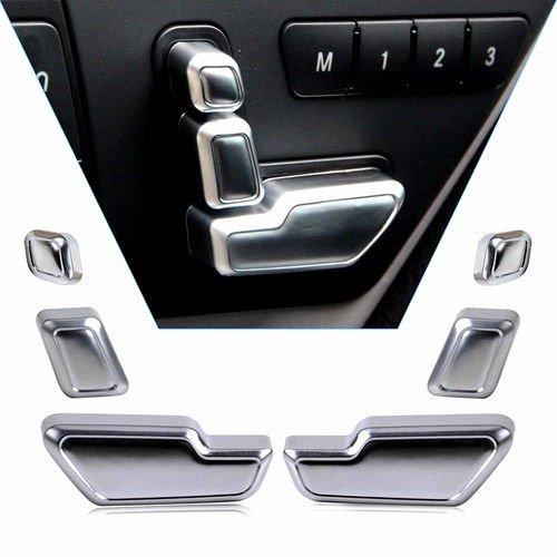 Chrom Tür Sitz Schalter Knopf-für Ben z W212 218 CLS X166 GL