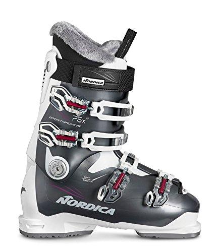 Nordica Damen Skischuhe Sportmachine 75 X W schwarz/Weiss (910) 26,5
