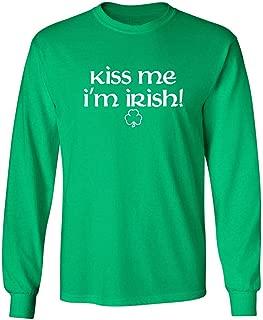 Kiss Me I'm Irish St. Patrick's Day Saint Irish Pats Funny T Shirt