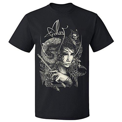 Prophecy Productions ALCEST - Faun Schwarz - T-Shirt