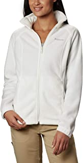 Women's Benton Springs Full Zip Jacket, Soft Fleece with Classic Fit, Sea Salt, XL