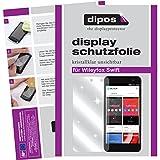 dipos I 2X Schutzfolie klar kompatibel mit Wileyfox Swift Folie Bildschirmschutzfolie