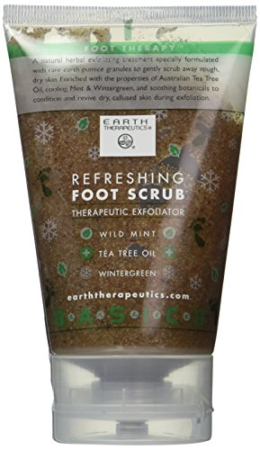 Earth Therapeutics Refreshing Foot Scrub - 4 fl oz