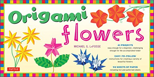 Origami Flowers Kit: Fold Lovely Daises, Lilies, Lotus Flowers and More!: Kit with 2 Origami Books, 41 Projects and 98 Origami Papers
