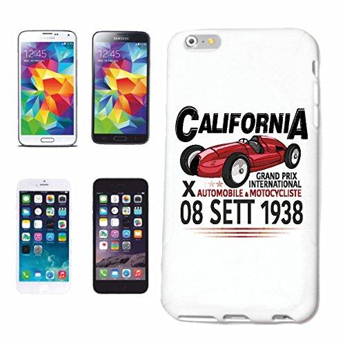 Reifen-Markt Hard Cover - Funda para teléfono móvil Compatible con Apple iPhone 6+ Plus Gran Premio Internacional DE California 1938 Motorsport Racing Carreras de