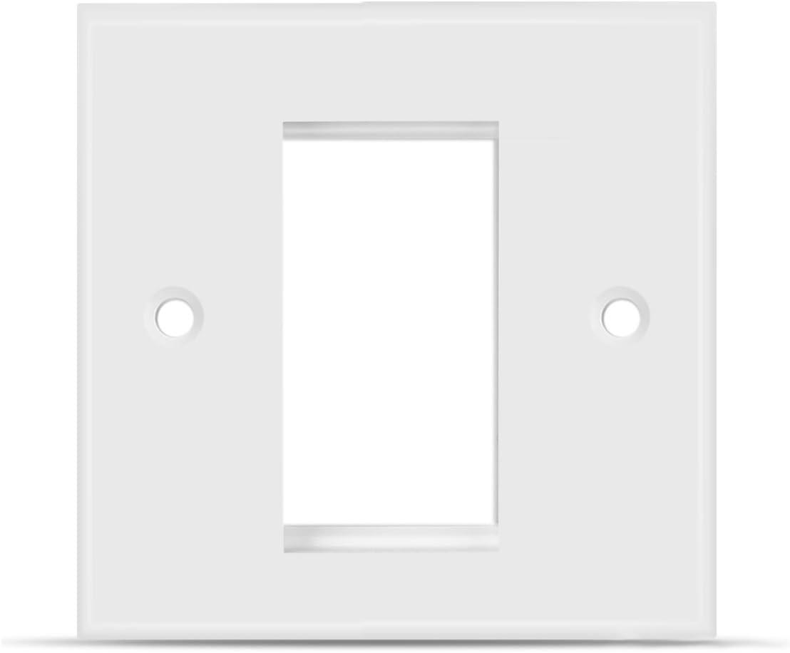 Tnp Blank Faceplate Wall Socket Plate 1 Port Amazon Co Uk Electronics
