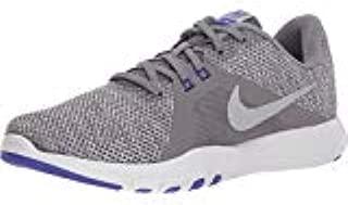 Nike Women's Flex Trainer 8 Gunsmoke/Metallic Silver-Atmosphere Grey Shoes (9 B US)