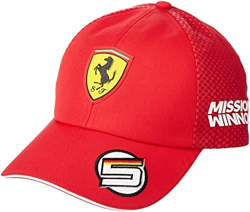 Puma Scuderia Ferrari Sebastian Vettel Cap Kappe 2019 Puma Rot