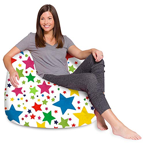 Posh Creations Bean Bag Chair for Kids, Teens, and...