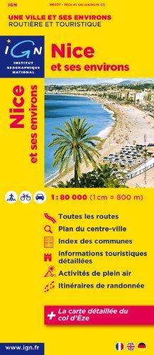 Nice & Surroundings (Ign Map)