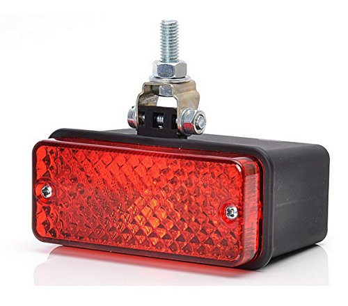 Rot Hinten Nebel Licht 12V 24V E Zeichen Universal passt Pick up Auto Lampe Leuchte Birne G05