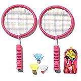 1 Paire De Raquettes De Badminton Pour Enfants Ensemble De Badminton La Combinaison De Badminton Professionnelle Comprend 1 Paire De...