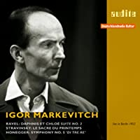 Igor Markevitch Conducts Ravel