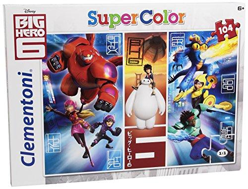 Disney   Puzzle, 104 Piezas, diseño Big Hero 6: Change The World ( 279197)