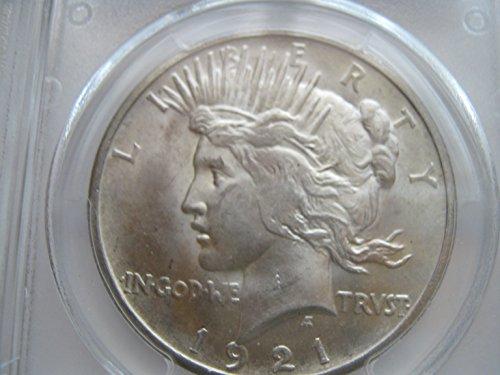 1921 Peace $1 MS64 PCGS