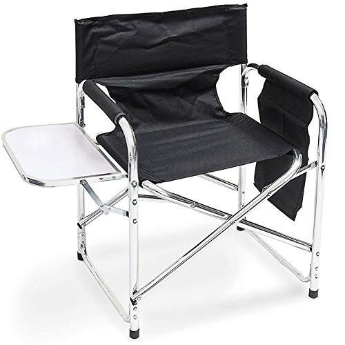 Lifetime Garden 29181 Chaise Camping et Table d'Appoint Aluminium 48 x 10 x 78 cm