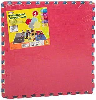 Protective Floor Rubber Mat (4 Pieces)