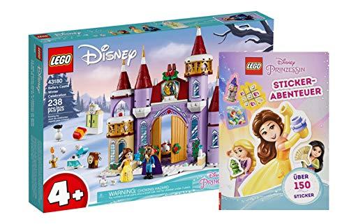 Collectix Lego Disney Principessa – Set 43180 Belles, lucchetto invernale + avventura adesiva (copertina morbida)