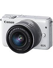 Canon ミラーレス一眼カメラ EOS M10 レンズキット(ホワイト) EF-M15-45mm F3.5-6.3 IS STM 付属 EOSM10WH-1545ISSTMLK