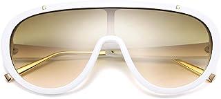 نظارات شمسية نسائية من قطعة واحدة كبيرة الحجم من FEISEDY بتصميم كلاسيكي B2580