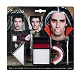 Boland- Kit Make-Up Trucco Vampiro per Adulti, Bianco, Taglia Unica, 45086