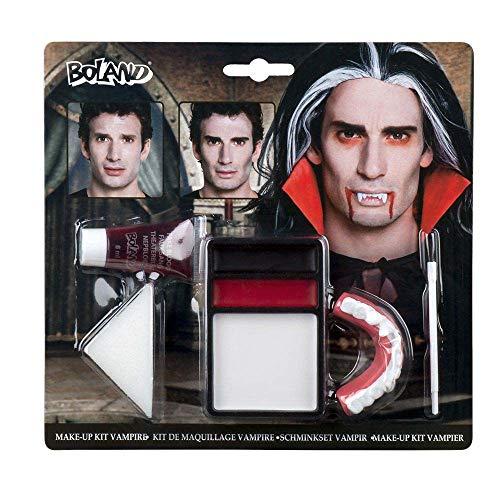 Boland-29721 Otro Kit de maquillaje vampiro, multicolor, Uni