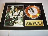 Elvis Presley disco dorado firmado