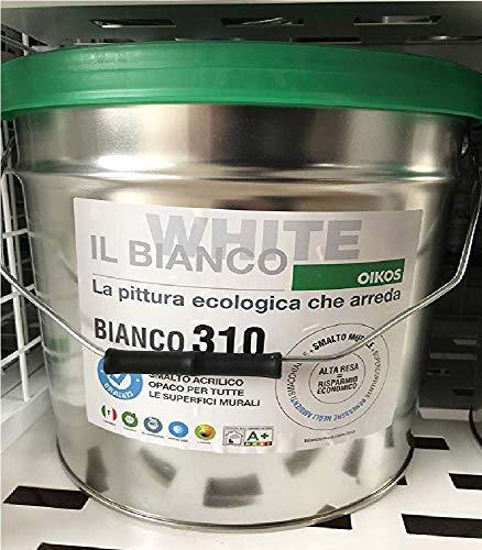 BIANCO 310 LT.1 OIKOSECOSMACCHIANTE OPACO SMACCHIABILE