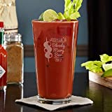 Bloody Mary Bar Personalized Pint Glass (Customizable Product)