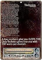 Technics Stereo Receivers ティンサイン ポスター ン サイン プレート ブリキ看板 ホーム バーために