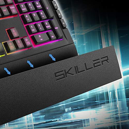 Sharkoon Skiller SGK5 Gaming-Tastaturen schwarz