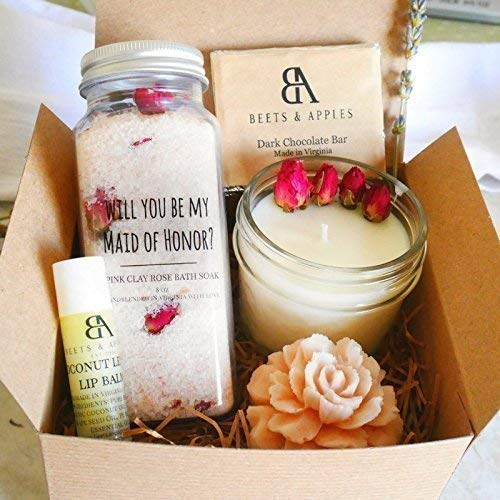 Amazon Com Ship Next Day Maid Of Honor Gift Set Maid Of Honor