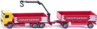 Siku Construction Lorry with Trailer, Multi-Colour