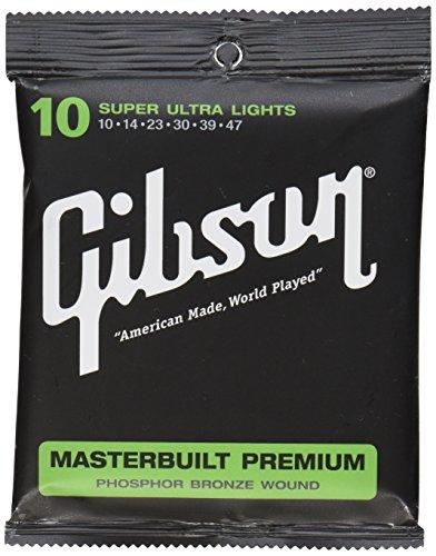 Gibson Gear SAG-MB10 Masterbuilt Premium Saiten .010 - .047