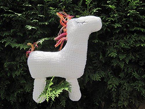 Strickanleitung Pferd als Kissen oder Spielzeug: Ideal für Anfänger
