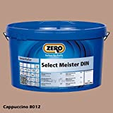 ZERO Select Meister 12,5 L Profi Wandfarbe Innenfarbe, Farbe Cappuccino