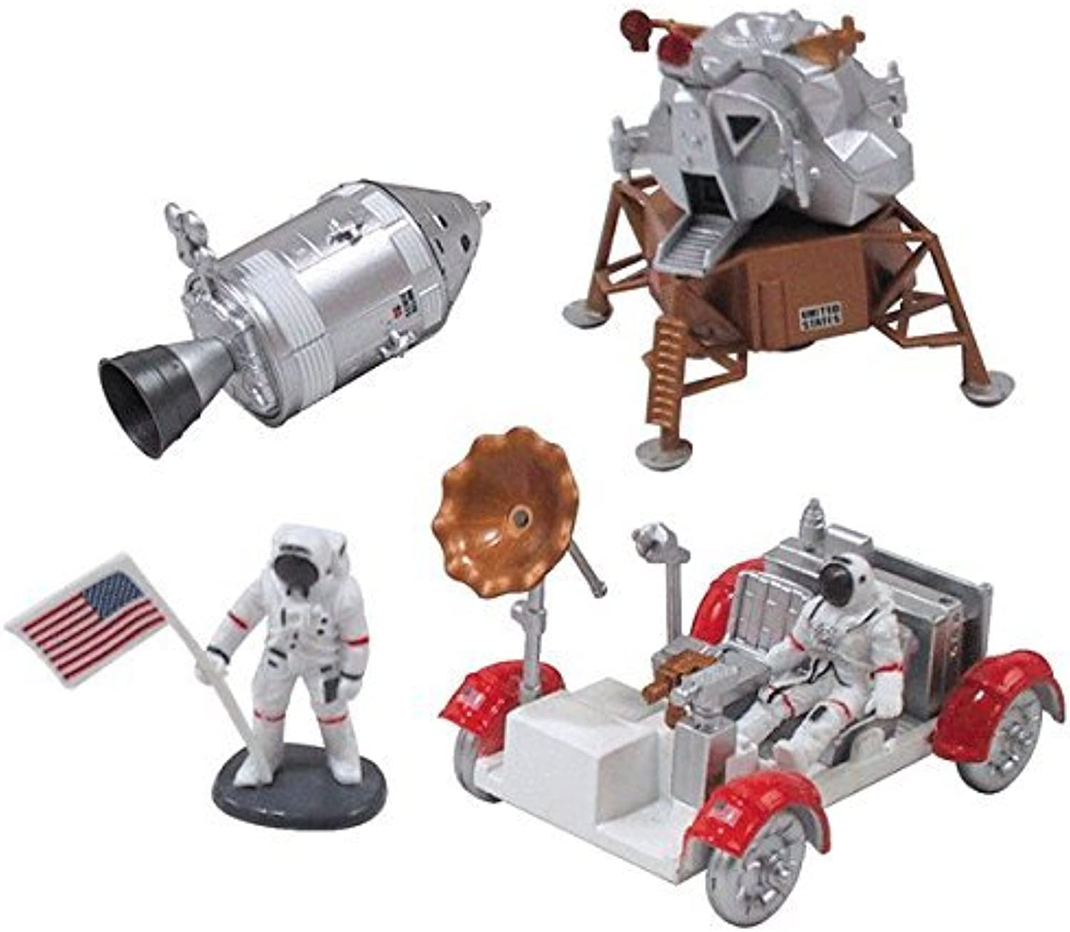 InAir E-Z Build Model Kit - Apollo Lunar Module with Lunar Rover