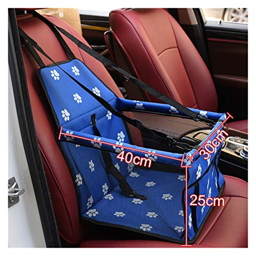 Funda Coche Perro Mascota perro asiento de coche cubierta impermeable recorrido portátil portátil portátil asiento seguro asiento canasta gato cachorro bolsa de viaje malla de viaje bolsas colgantes A