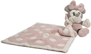 Barefoot Dreams CozyChic Vintage Minnie Mouse Blanket Buddie, Dusty Rose